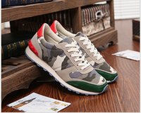 Wholesale New Designer Man Sneakers Shoes Low Men s Camouflage Canvas High Quality Fashion Sneakers Men A27