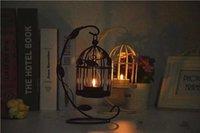 venda por atacado christmas candle-Titulares estilo marroquino Bird Cage Decoração da vela para festas de casamento Kaftans Folha Candle favores para presentes de aniversário do Natal CPA409