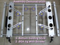 Wholesale PCB fixture with screws Bottom support stick for BGA rework station IR6000 IR support bracket order lt no track