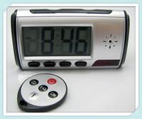 2016 New HD 1280 appareil photo * 720P Mini horloge enregistreur vidéo télécommande Détection de mouvement numérique travaillant longtemps sécurité à la maison CCTV Mini DV