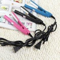 Wholesale Professional Portable Mini Ceramic Iron Hair Straightener Curler Irons LY116