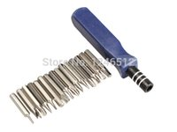 Wholesale 2016 new In Precision Metal Screwdriver Repair Tool Kit T5 T6 T8 for Electronics free shopping