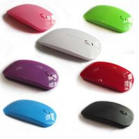 mouse usb - NEW G colorful Wireless Ultra Thin Optical Mouse for Laptop Desktop Notebook USB Adapter Mouse Keyboard Universal