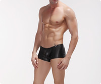 Cheap men leather shorts Best male leather panties
