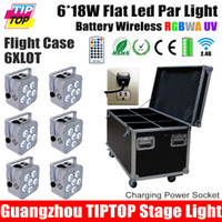 best flight case - TIPTOP IN1 Charging Flight Case White Housing W in1 RGBWA UV Led Par Light Battery NI MH Nickel Metal Hydride Battery Best Quality