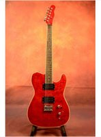Wholesale ems Beyond s Paul Wong Jinhua Electric Guitar band red