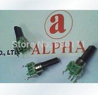 alpha linear - mm Alpha B5K K Linear Taper Potentiometer Knurled Shaft RTangle PC Mount