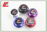 Wholesale Hight Quality TRD Engine Oil Fuel Filler Tank Cap Cover Aluminum Black For TOYOTA LEXUS SCION colors offer