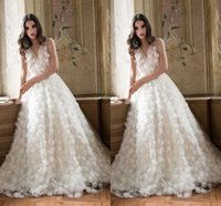 quality white shirts - V Neck Sexy Wedding Dresses With Applique Lace Wedding Gowns Beach Designer Elie Saab Elegant Cute High Quality Fabric Wedding Dres