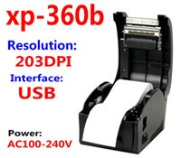 Wholesale High Speed USB port label printer XP B barcode printer Thermal Sticker Printer Clothing label machine