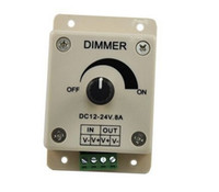 Wholesale Led dimmer manual dimmer switch with lights single controller pwm v a