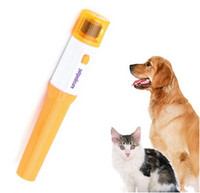 Wholesale New Pet Dog Cat Nail Grooming Grinder Trimmer Clipper Electric Nail File Kit