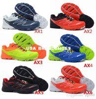 Wholesale 2014 New Salomon Contagrip S LAB SENSE ULTRA SG Men s Athletic Running shoes Zapatillas Hombre Tennis Solomon S LAB FootWear