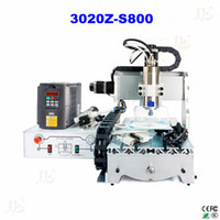 Wholesale Russia only no tax Mini CNC Router Z S800 with ball screw w water cooling spindle