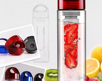 Wholesale 100PCS HHA Newest Fashion ml Fruit Infuser Water Bottle Infusion AS Drink Lemon Juice Bottle