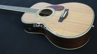Wholesale New Factory Chartin OM45 acoustic electric guitar Replica OM guitar real abalone guitar with fishman