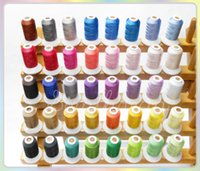 Wholesale Brand Simthread M yard Polyester Embroidery Thread Brothers color for Brother Sewing Machine D Factory Directly