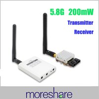 rc transmitter and receiver - China FPV Transmitter RC Ghz mW Wireless Channels FPV Video Transmitter and Receiver KM Wireless Transmitter Quadrocopter B60796