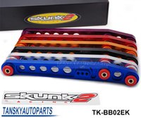 Wholesale SK2 High quality RACING REAR LOWER CONTROL ARMS FOR CIVIC ALL EK CLEAR ANODIZED TK BB02EK