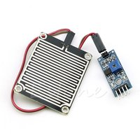 Wholesale 1PC Rain Weather Module Raindrops Detection Sensor Moduel Humidity For Arduino