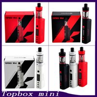 Wholesale Kanger Topbox Mini Starter Kit With Kbox W TC Mod ML Toptank Mini Kanger Subox Mini Starter Kit