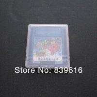 20 cajas de plástico transparente para Nintendo gbp gb gbc Juegos Tarjeta Cartucho (caja) tarjeta shuffle