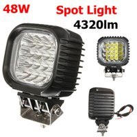 Wholesale 48W LED For CREE Spot Work Lamp Light OffRoad Boat Truck SUV For Jeep Tailer CE V order lt no track