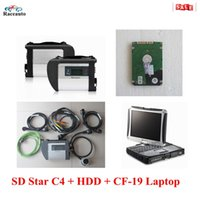 automotive diagnostic software for pc - 2016 Wifi MB Star C4 diagnostic scanner with Toughbook Laptop CF19 touch Rotate Diagnosis PC with gb hdd V2016 Latest software