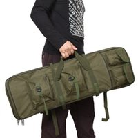 Wholesale 85cm quot Outdoor Hunting Tactical Bag Shotgun Square Carry Bag Gun Protection Bag Case Camping Backpack Y0622
