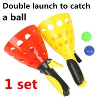 baby launch - Double launch to catch a ball parent child games baby toys educational toys outdoor toys ball toys