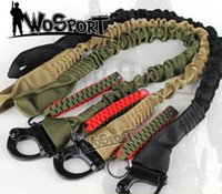 airsoft gun safety - CS Tactical Safety Gun Sling multi functional For Airsoft Outdoor Sports equimpment Sling Green TAN Black