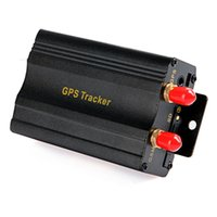 Wholesale Car Vehicle GPRS GSM SMS GPS Tracker Tracking System Device TK103A with Alarm