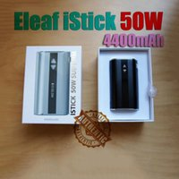 Cheap 350mAh istick 50 Best Adjustable Electronic Cigarette eleaf istick 50w