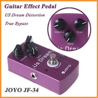 Wholesale JOYO JF US Dream Distortion Guitar Effect Pedal True Bypass High Quality Guitarra Effect Pedal Dropshipping