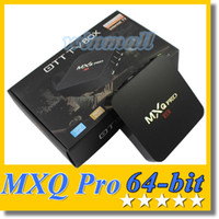 Wholesale 2016 Cheapest K TV BOX MXQ Pro S905 bit Quad Core Android Airplay Kodi Miracast Smart TV Player
