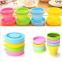 Wholesale New Hot Portable Silicone Retractable Folding Cup Telescopic Collapsible Outdoor Travel TY1544