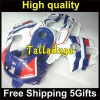 Cheap Plastic Body Fairing Kit Set For HONDA CBR600F2 CBR600 CBR 600 F2 1991 1992 1993 1994 91 92 93 94 Blue White HR-448