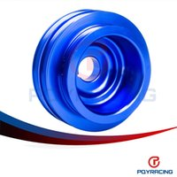 Wholesale PQY STORE Lightweight Crank Pulley For Honda B16 B18 Engine Civic Accord Blue