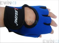 Wholesale Cycling Bike Comfortable Bicycle Sports Palm Pad Hiking Half Finger Gloves pairs