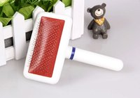 Wholesale New Arrivals New Dogs Cats Pets Hair Fluff Slicker Grooming Cleaning Brush Pin W3