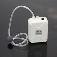 Wholesale Mini Portable Aquarium Air Pumps Tank Fish Aerator Oxygen Battery Air Pump Live Bait Fishing Water resistant