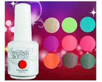 Wholesale New Nexu Gelish Soak Off UV Nail Gel Polish Total Fashion Colors hot Sale ml Brand DHL