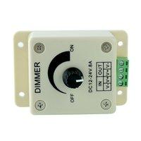 Wholesale LED Switch Dimmer Brightness Cotroller For Office Lamp Strip Light Single Color Efficient DC12V V