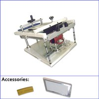 screen printing machine - manual curved screen printing machine for cups bottles pens