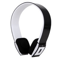 Wholesale Wireless Bluetooth Headphones Earphone Stereo Built in Mic hands free for calls music streaming with Mic FM TF Card for iOS Galaxy HTC
