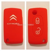 citroen - Silicone Cover for CITROEN C2 C3 C4 C5 Picasso Remote Key cover Fob Case buttons support dropshipping