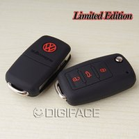 beetle car cover - silicone car key cover for Volkswagen VW polo b5 b6 golf jetta mk6 tiguan Gol CrossFox Plus Eos Scirocco Beetle