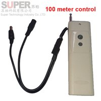 Wholesale on off Remote Control Switch DC V V battery remote control meters distance work remote controller CCTV power controller