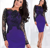 Cheap Real Photos red lace dresses for women Best Sheath/Column Off-Shoulder 2015 plus size celebrity dresses