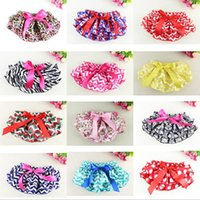Wholesale 2016 Summer models baby Satin PP pants Children Summer Clothing Baby Girl Lace Tutu PP Pants Multi colors Cotton Cloth Diaper Cover